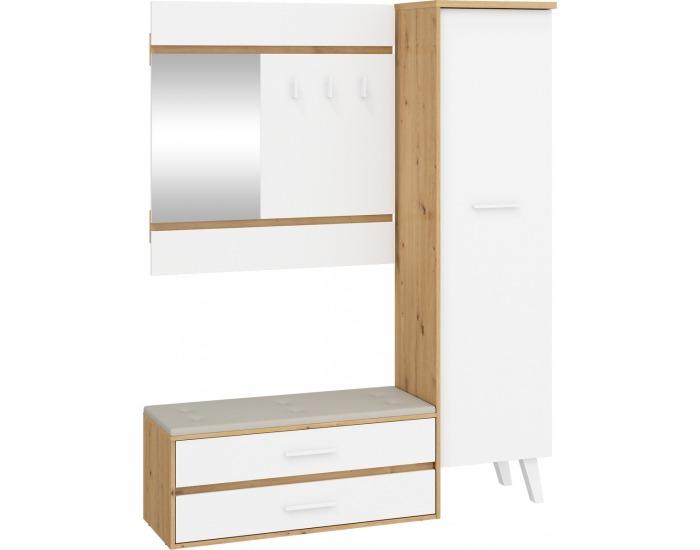 Predsieň Nordis NOR-18 - dub artisan / biela / béžová