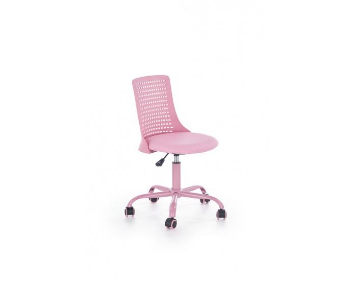 ef6e8d95798f Detská stolička na kolieskach Pure - ružová