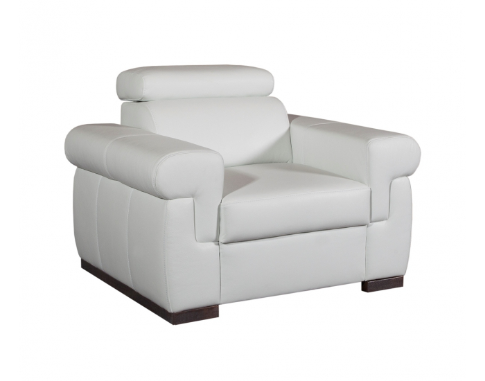 Kožená sedacia súprava Everest - biela (Madras white)