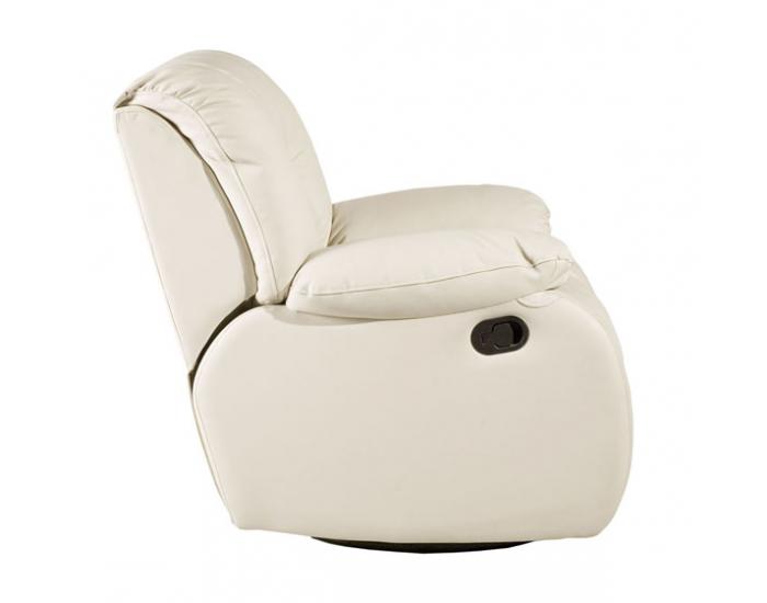 Kožená sedacia súprava Regan - krémová (Madras G100)