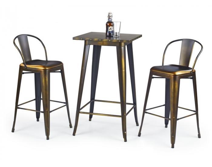 Barový stôl SB-8 - žltá meď