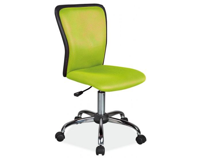 Detská stolička na kolieskach Q-099 - zelená