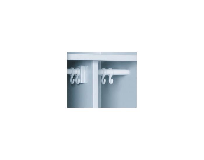 Kovová šatňová skriňa SUP E400-01 - svetlosivá