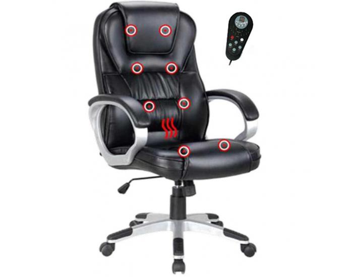 Kancelárske kreslo s podrúčkami Tyler UT-C2652M - čierna / sivá