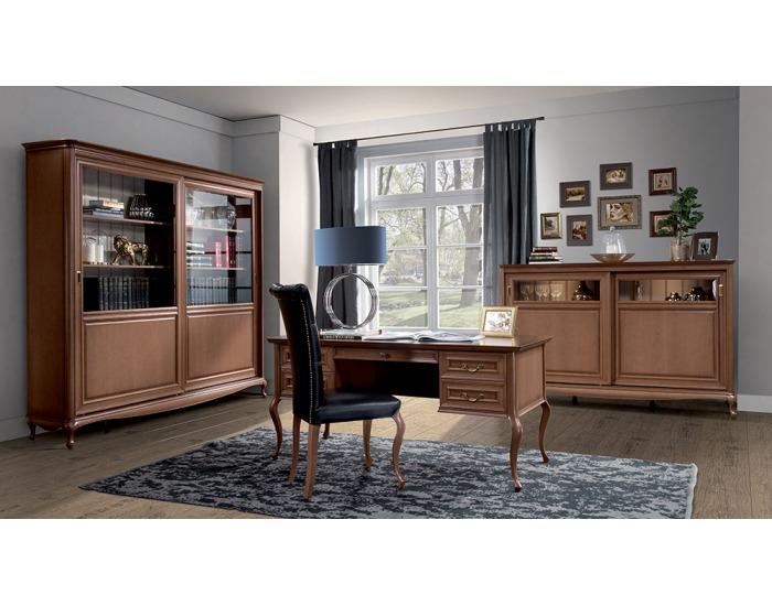 Rustikálna pracovňa Verona - hnedá (Cognac 18)