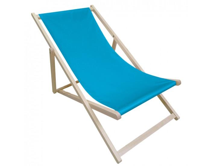 Plážové lehátko Zanzi - modrá