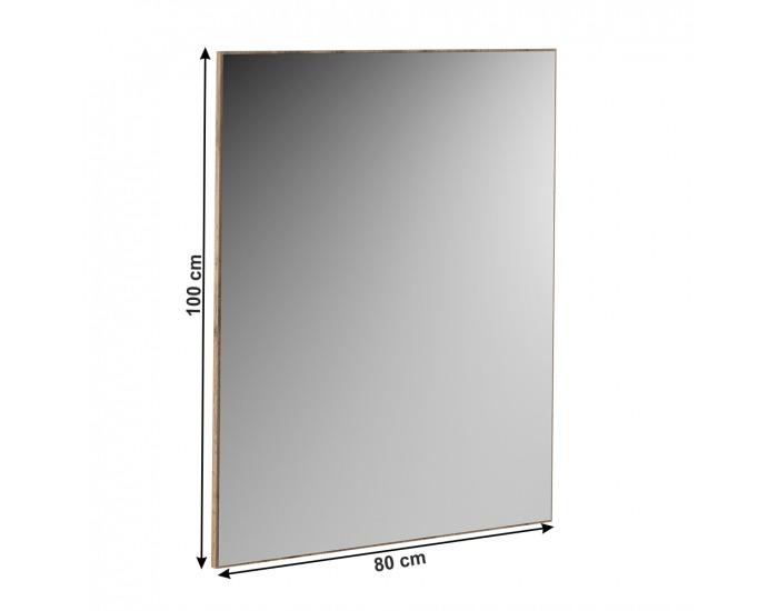 Zrkadlo na stenu Cyril Typ 09 - dub wotan