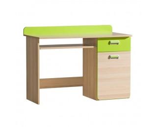 PC stolík Ego L10 - jaseň / zelená