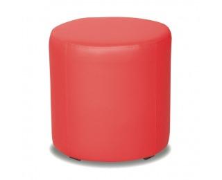 Taburetka Top 45 - červená ekokoža