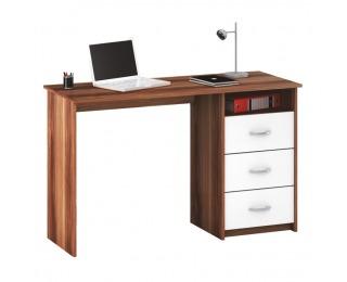Univerzálny PC stolík Laristote 1001 L/P - biela / slivka