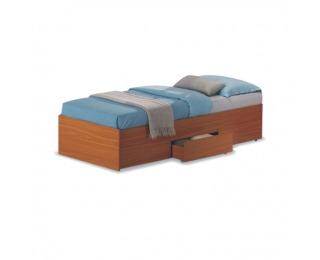 Jednolôžková posteľ s roštom Oscar 90 - čerešňa americká