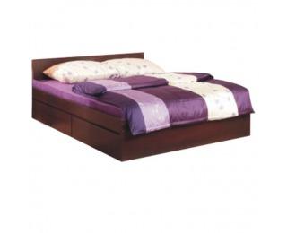 Manželská posteľ s úložným priestorom Pello 92 160 - borovica laredo