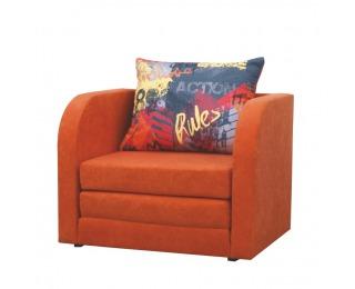 Rozkladacie kreslo Reno - oranžová