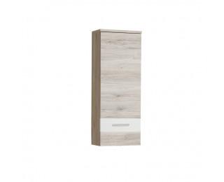 Skrinka na stenu Valeria 10 - dub pieskový / biela