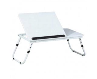 Stolík na notebook Evald LY1479 - biela