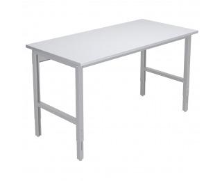 Baliarenský stôl s výškovým nastavením 1550 01 - svetlosivá