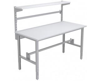 Baliarenský stôl s nadstavbou 1550 02 - svetlosivá