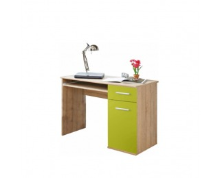 PC stolík Emio Typ 6 - dub sonoma / zelená
