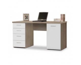 PC stolík Eustach - dub sonoma / biela