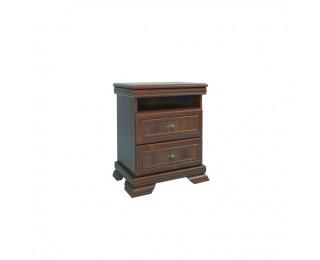 Rustikálny nočný stolík Kora KSN - samoa king
