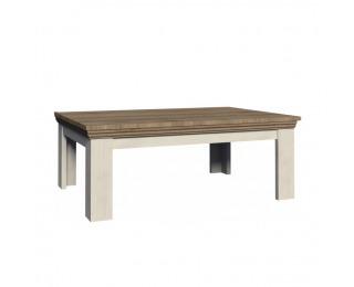 Konferenčný stolík Royal LN2 - biela sosna nordická / dub divoký
