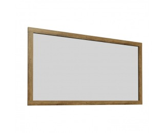 Zrkadlo na stenu Montana LS - dub lefkas tmavý