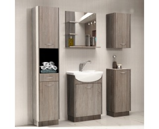 Kúpeľňa Olivia - dub sonoma truflový