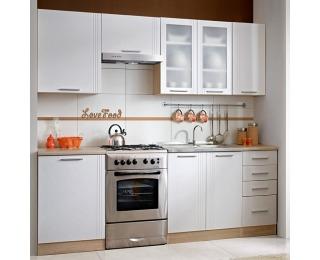Kuchyňa Monda 240 - dub sonoma / biela