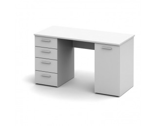 PC stolík Eustach - biela