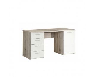 PC stolík Valeria 25 - dub pieskový / biela