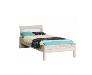 Jednolôžková posteľ Valeria 9 90 - dub pieskový / biela