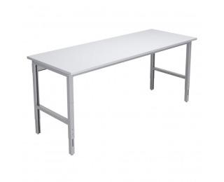 Montážny stôl výškovo nastaviteľný 2000 01 - svetlosivá