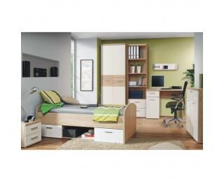 Študentská izba Winie - dub sonoma / biela