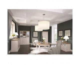 Obývacia izba Royal - biela sosna nordická / dub divoký