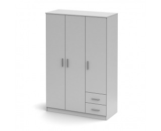Šatníková skriňa Noko-Singa 84 3D - biela