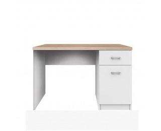 PC stolík Topty Typ 9 - biela / dub sonoma