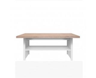 Konferenčný stolík Topty Typ 18 - biela / dub sonoma