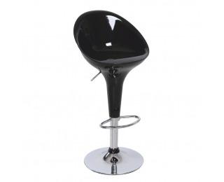 Barová stolička Alba HC-169 New - chróm / čierna