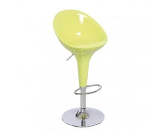 Barová stolička Alba HC-169 New - chróm / zelená
