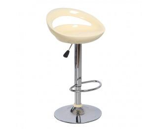 Barová stolička Dongo HC-104 New - béžová / chróm