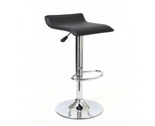 Barová stolička Laria - čierna / chróm