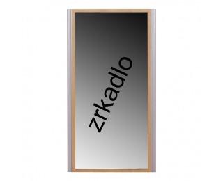 Zrkadlo na stenu Lissi 9 - buk / strieborná