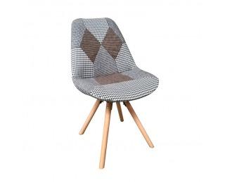 Jedálenská stolička Pepito Typ 10 - vzor patchwork