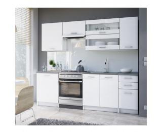 Sektorová kuchyňa Fabiana - biela