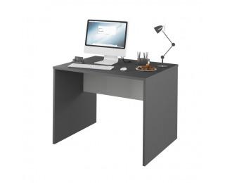 Písací stôl Rioma Typ 12 - grafit / biela