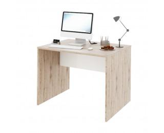 Písací stôl Rioma Typ 12 - san remo / biela
