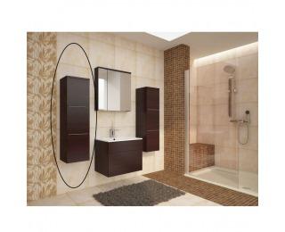Kúpeľňová skrinka na stenu Mason WE 11 - wenge