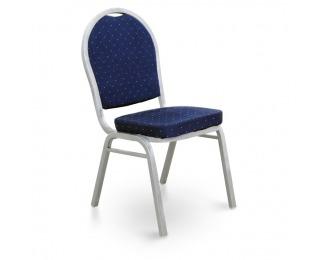 Konferenčná stolička Jeff 2 New - tmavomodrá / sivá