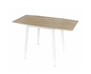 Rozkladací jedálenský stôl Mauro - dub sonoma / biela