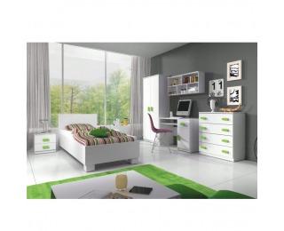 Detská izba Svend - biela / zelená